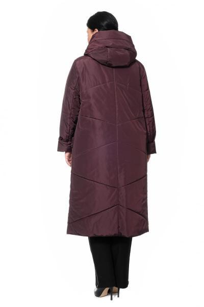 Артикул 300883 - пальто большого размера - вид сзади