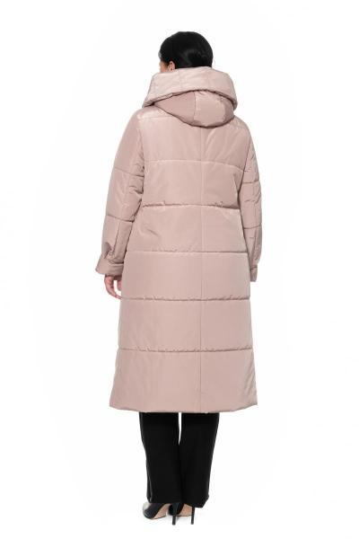 Артикул 300817 - пальто большого размера - вид сзади