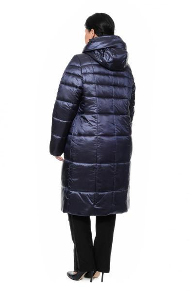 Артикул 300303 - пальто большого размера - вид сзади