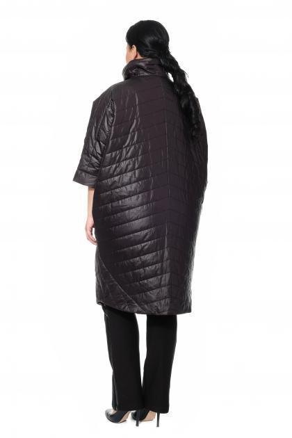 Артикул 370819 - пальто большого размера - вид сзади