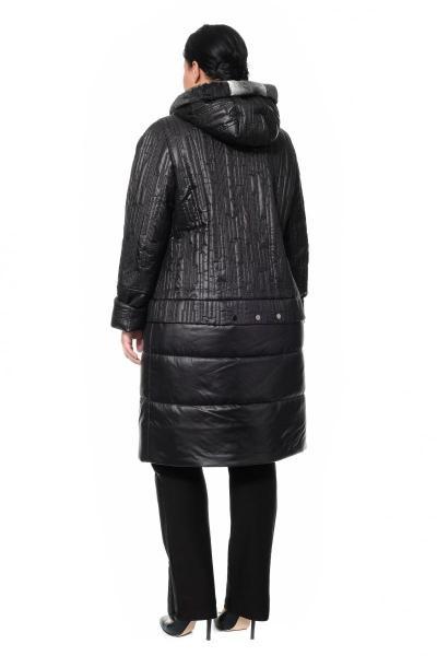 Артикул 300358 - пальто большого размера - вид сзади