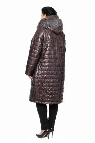 Артикул 301491 - пальто большого размера - вид сзади