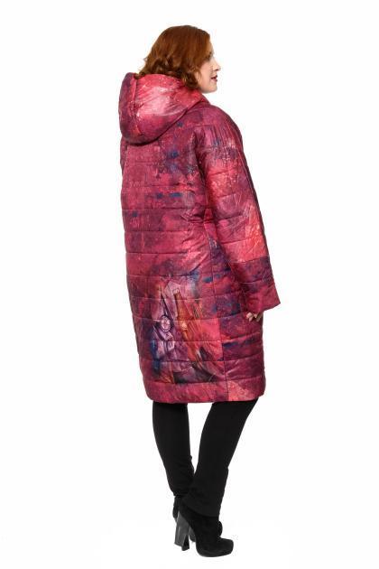 Артикул 310004 - пальто большого размера - вид сзади
