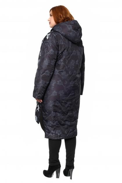 Артикул 310005 - пальто большого размера - вид сзади