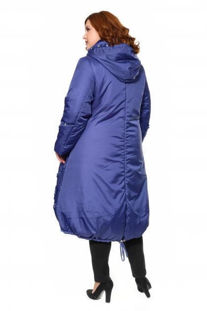 Артикул 300090 - пальто большого размера - вид сзади