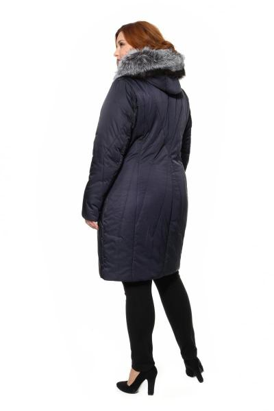 Артикул 301687 - пальто большого размера - вид сзади