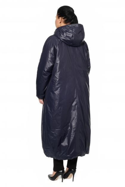 Артикул 0010829 - пальто большого размера - вид сзади