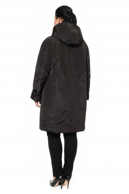 Артикул 300853 - пальто большого размера - вид сзади