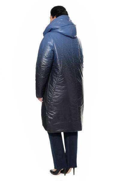 Артикул 300311 - пальто большого размера - вид сзади