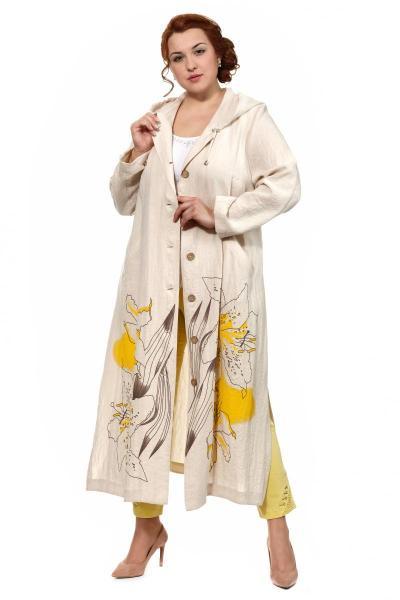 Артикул 307991 - пальто летнее большого размера