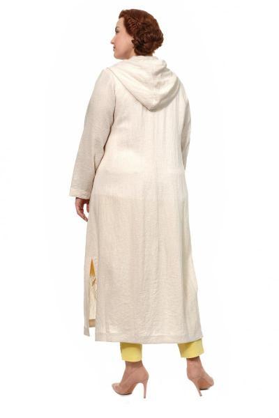 Артикул 307991 - пальто летнее большого размера - вид сзади