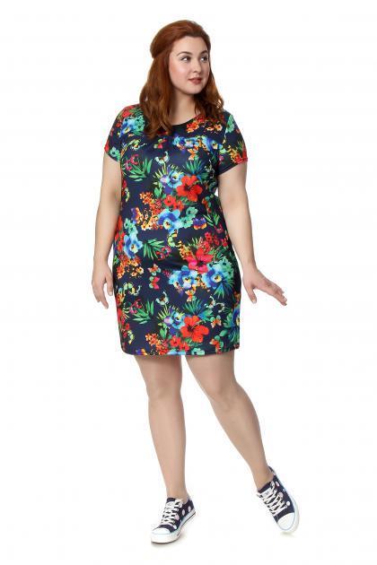 Артикул 148 - платье  большого размера