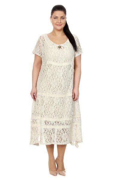 Артикул 17314 - платье с сорочкой большого размера