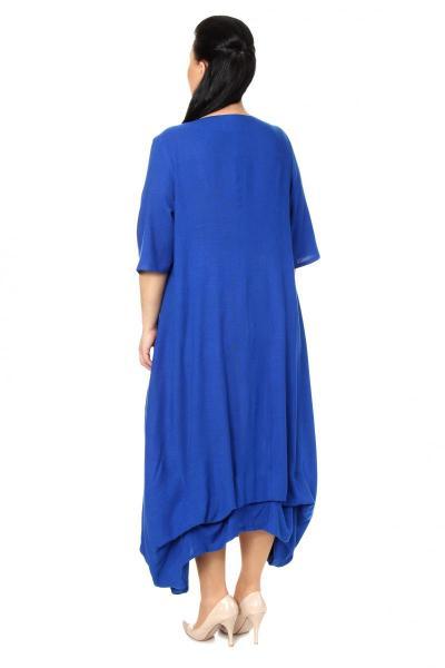 Артикул 17318 - платье  большого размера - вид сзади
