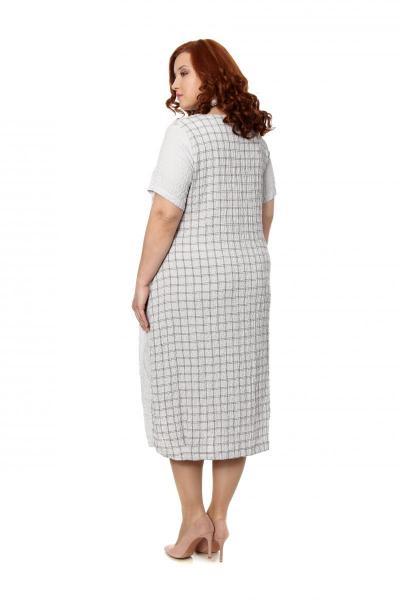 Артикул 301633 - платье  большого размера - вид сзади