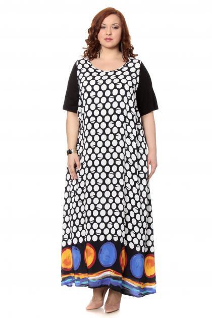 Артикул 302513 - платье большого размера