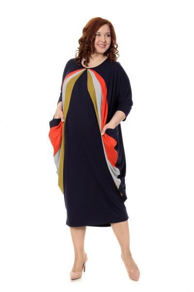 Артикул 302406 - платье  большого размера