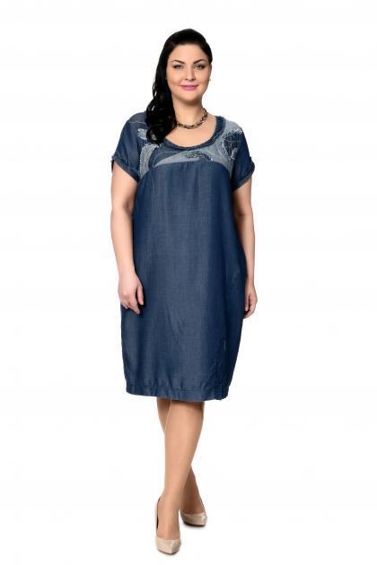 Артикул 303091 - платье большого размера