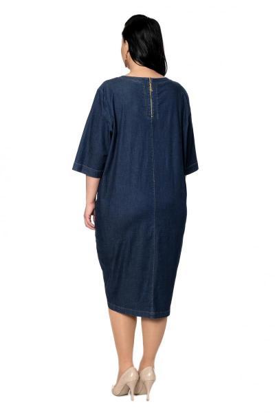 Артикул 334444 - платье  большого размера - вид сзади