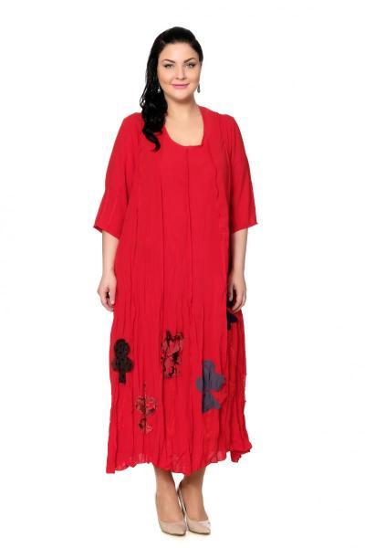 Артикул 200530-2 - платье  большого размера