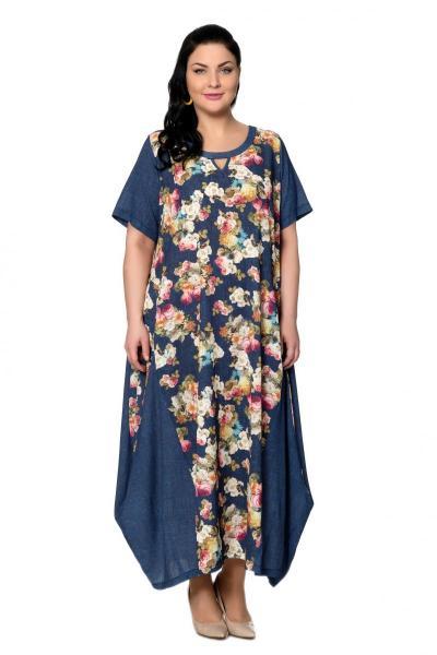 Артикул 301641 - платье  большого размера