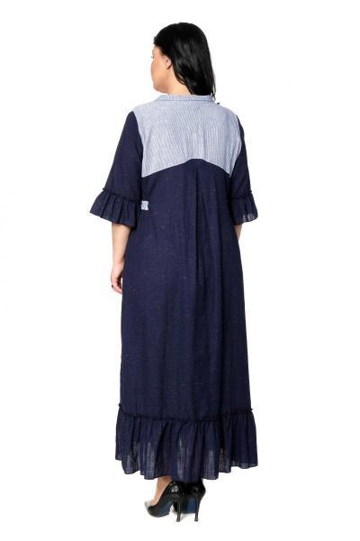 Артикул 300469 - платье  большого размера - вид сзади