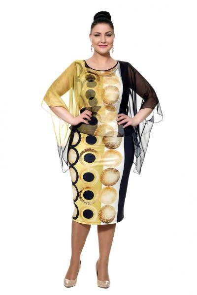 Артикул 302375 - платье большого размера