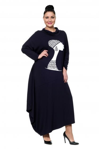 Артикул 302493 - платье большого размера