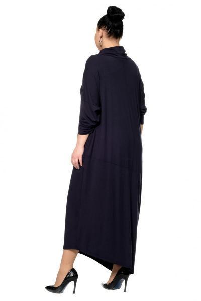 Артикул 302493 - платье большого размера - вид сзади