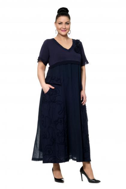 Артикул 303876 - платье большого размера