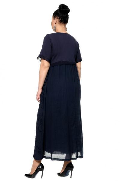 Артикул 303876 - платье большого размера - вид сзади