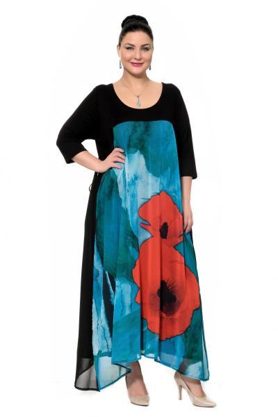 Артикул 302360 - платье большого размера