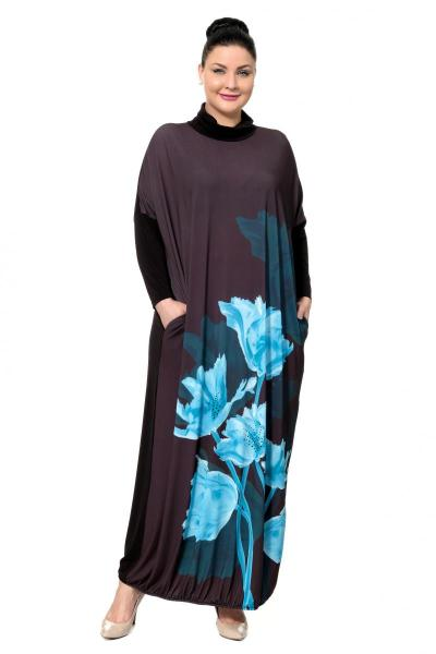 Артикул 302483 - платье большого размера