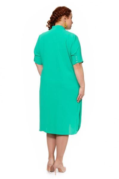 Артикул 305076 - платье большого размера - вид сзади