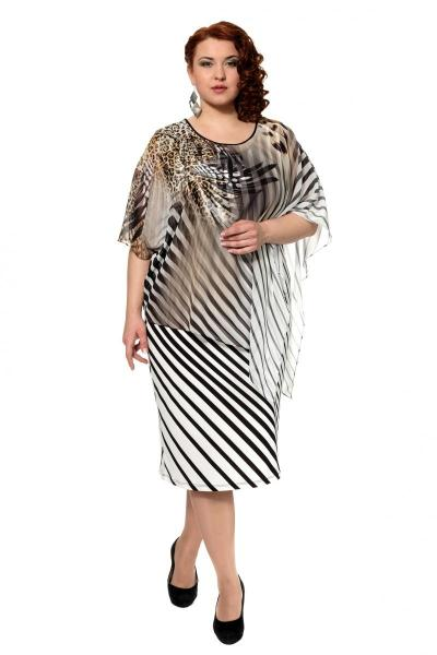 Артикул 315630 - платье большого размера