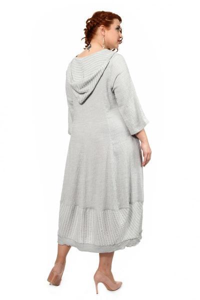 Артикул 716006 - платье большого размера - вид сзади