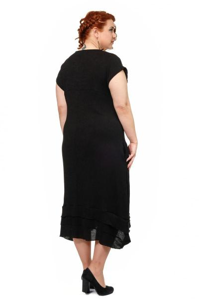 Артикул 300558 - платье большого размера - вид сзади