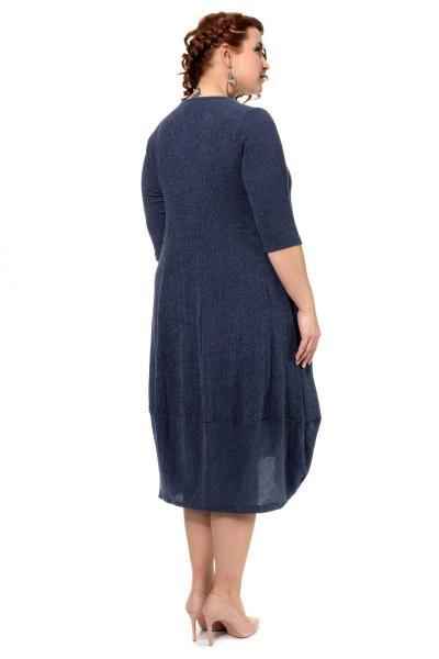 Артикул 300557 - платье большого размера - вид сзади