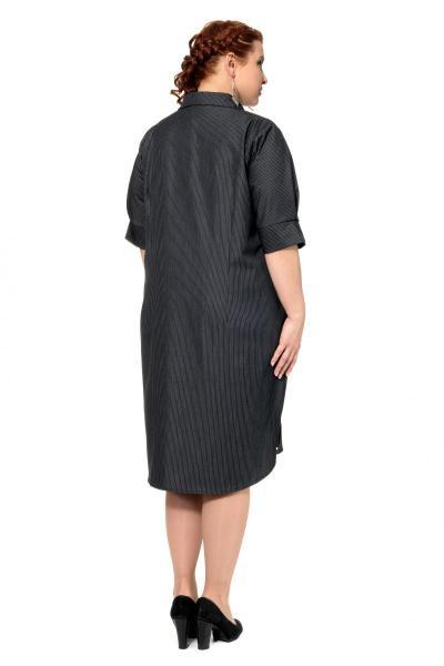 Артикул 305072 - платье большого размера - вид сзади