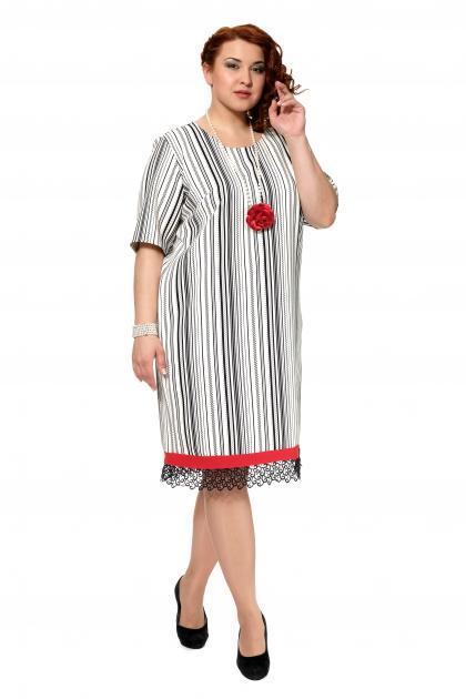 Артикул 303972 - платье большого размера