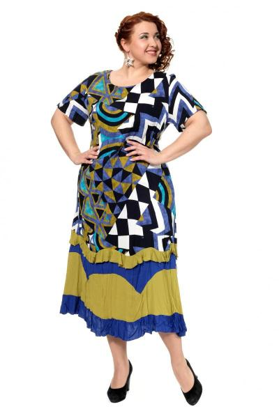 Артикул 301656 - платье большого размера