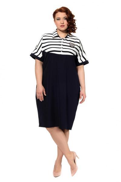 Артикул 303979 - платье большого размера