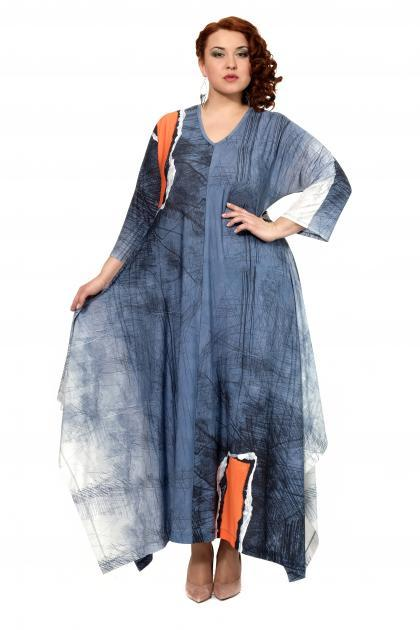 Артикул 301971 - платье большого размера