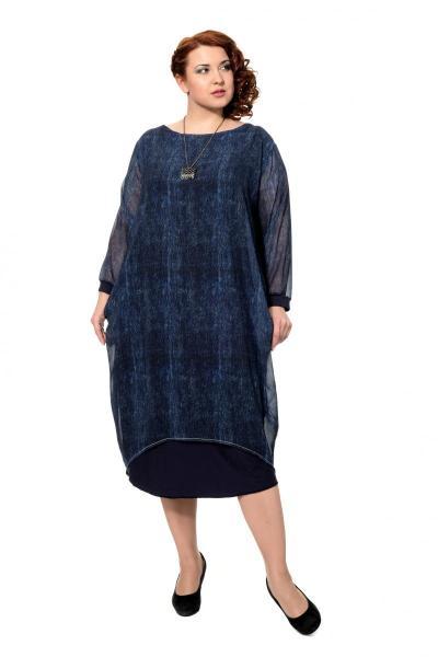 Артикул 301968 - платье большого размера