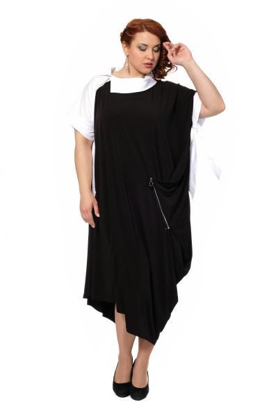Артикул 429074 - платье с сорочкой большого размера