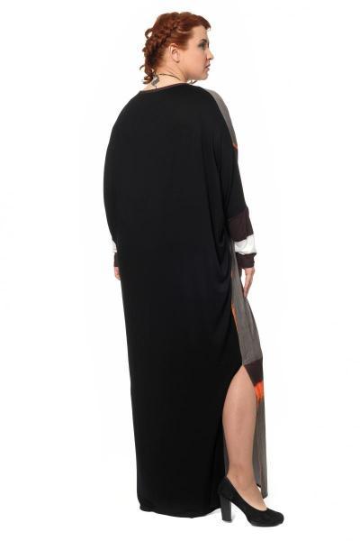 Артикул 301970  - платье большого размера - вид сзади