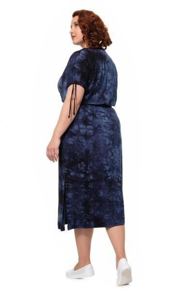 Артикул 146 - платье  большого размера - вид сзади