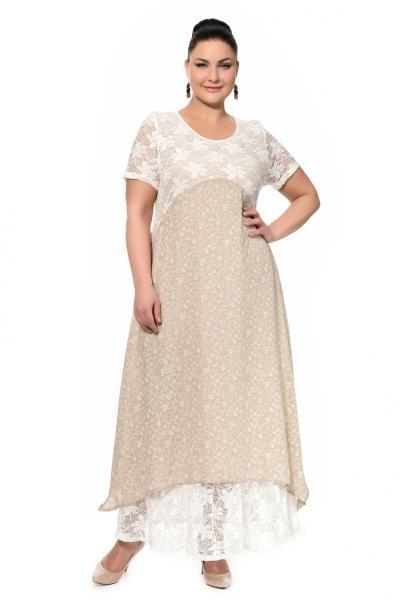 Артикул 17326 - платье большого размера