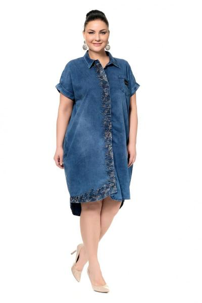 Артикул 300373 - платье большого размера