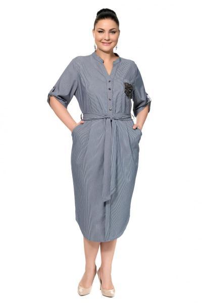 Артикул 307117 - платье большого размера